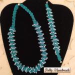 Nuovo set di gioielli tessili